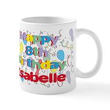 Isabelle's 8th Birthday Mug