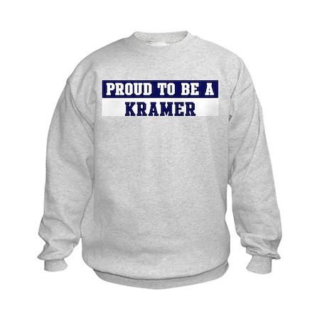 Proud to be Kramer Kids Sweatshirt