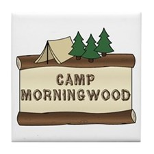 Camp Morningwood Tile Coaster