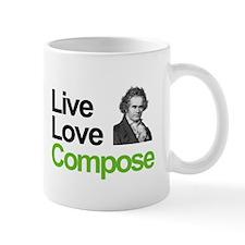 Ludwig's Live Love Compose Mug