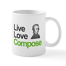Mozart's Live Love Compose Mug