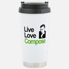 Shosti's Live Love Compose Stainless Steel Travel