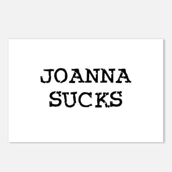 Joanna Sucks Postcards (Package of 8)