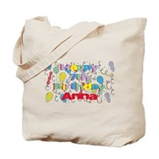 Anna's 7th Birthday Tote Bag