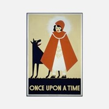 Once Upon a Time Rectangle Magnet