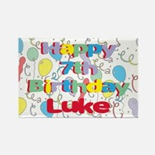 Luke's 7th Birthday Rectangle Magnet