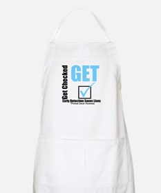 Get Checked Prostate Cancer BBQ Apron
