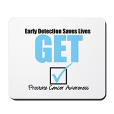 Get Checked Prostate Cancer Mousepad