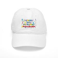 Alexander's 5th Birthday Baseball Cap