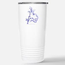 Blue Salamander Travel Mug