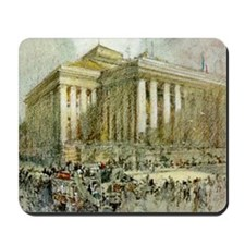 Paris Stock Exchange Mousepad