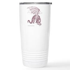 Sepia Dragon Pivotal Moment Travel Mug