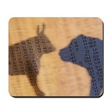 Stock market Mouse Pads