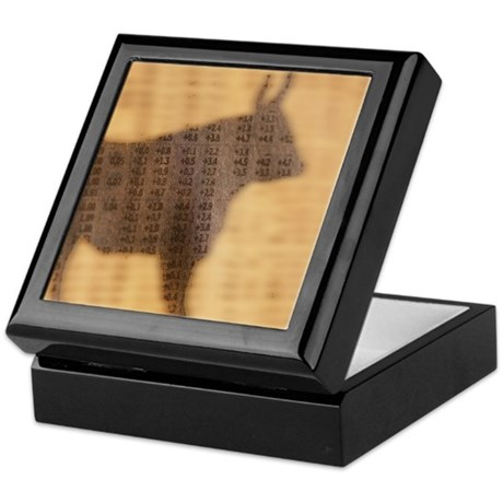 Shadow of the Bull Keepsake Box