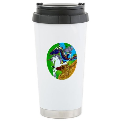 Defenders Stainless Steel Travel Mug