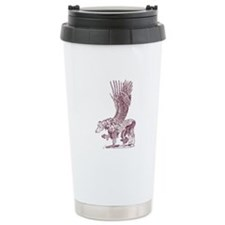 Hawkwing Hippogryph (sepia) Travel Mug