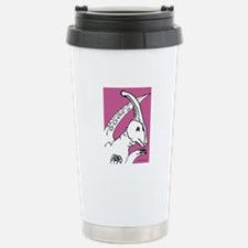 Parasaurolophus Pink! Travel Mug