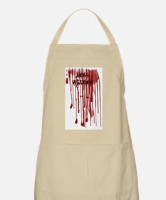 Yeah Whatever Blood BBQ Apron