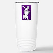 Deadly Deinonychus! Purple Travel Mug