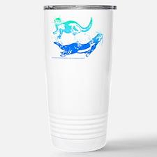 Otters Aquamarine Travel Mug