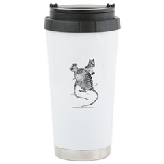 Banded Hare Wallaby Stainless Steel Travel Mug