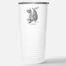 Grinning Wing Lizard Travel Mug
