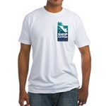Two Sided Surveyors Fitted T-Shirt