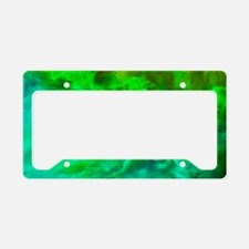 Lagoon Nebula License Plate Holder