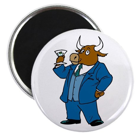 Here's to the Bull Magnet
