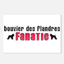 Bouvier des Flandres Fanatic Postcards (Package of