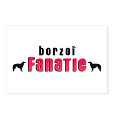 Borzoi Fanatic Postcards (Package of 8)