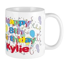 Kylie's 8th Birthday Mug