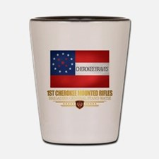 1st Cherokee Mounted Rifles Shot Glass