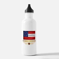 1st Cherokee Mounted Rifles Water Bottle