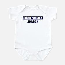 Proud to be Jordon Infant Bodysuit