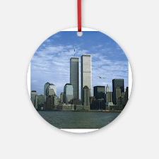 Trade Center Ornament (Round)