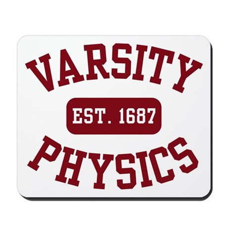 Varsity Physics Mousepad