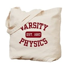 Varsity Physics Tote Bag