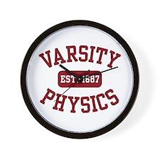 Varsity Physics Wall Clock