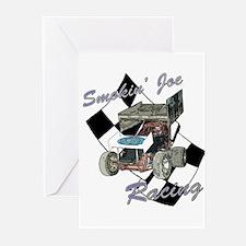 Smokin' Joe Racing Greeting Cards (Pk of 10)
