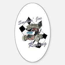 Smokin' Joe Racing Oval Decal