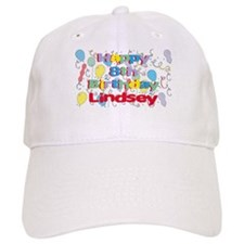 Lindsey's 8th Birthday Baseball Cap