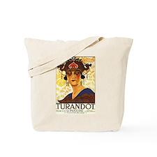 Turandot Poster Tote Bag
