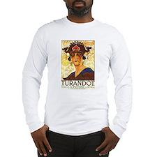 Turandot Poster Long Sleeve T-Shirt
