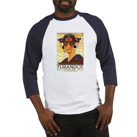 Turandot Poster Baseball Jersey