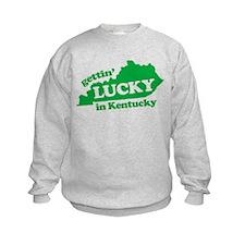 gettin lucky in kentucky Sweatshirt