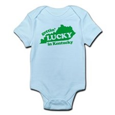 gettin lucky in kentucky Infant Bodysuit