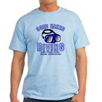 Coed Naked Diving Light T-Shirt