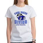 Coed Naked Diving Women's T-Shirt