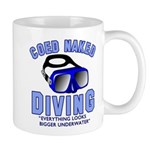 Coed Naked Diving Mug